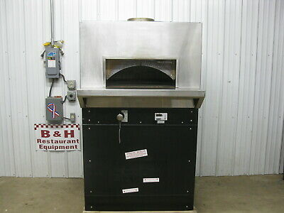 Wood Stone Bistro Ws-bl-4343-rfg-ng Natural Gas Fired Stone Hearth Pizza Oven