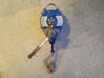Dbi Sala Rescue Winch Retractable Lifeline  Model 3403402