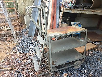 Stock Picking Ladder Truck Cart Work Table Industrial Nutting Brand