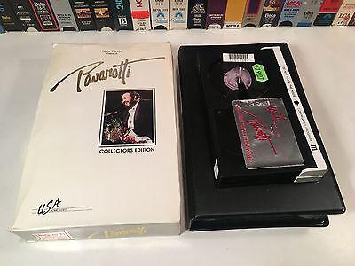 * Pavarotti Collector's Edition Betamax 1984 Live Concert Beta Riviera Las Vegas