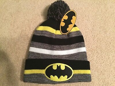 SUPERMAN vs. BATMAN Justice LEAGUE movie DC COMIC book MEN's Ski BEANIE Hat cap](Superman Beanie)