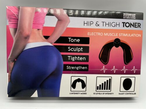 Evertone Hip & Thigh Toner Electric Muscle Stimulation         D
