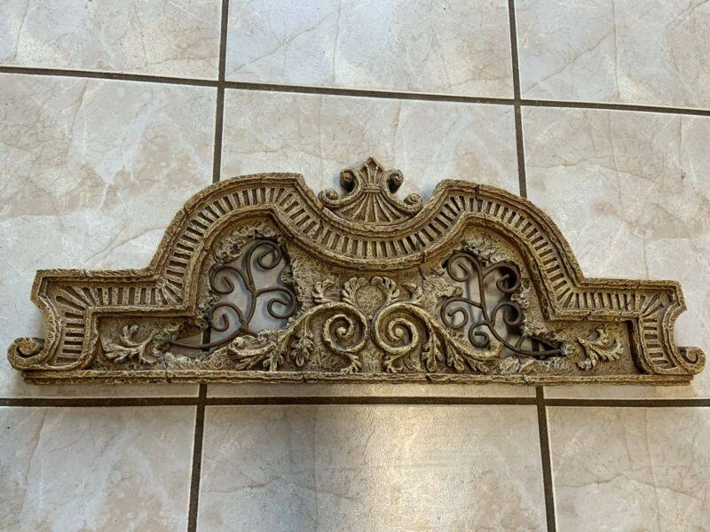 Ornate Pediment 23""