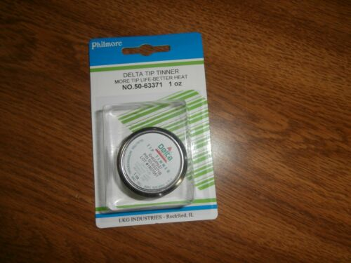 Qualitek Tip Tinner Soldering Iron Tip Cleaner 1 oz,50-63371B,NIP