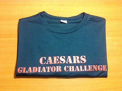 Caesars Gladiator Challenge Las Vegas Souvenir T Shirt M Caesars Entertainment