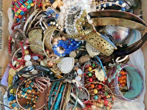 15 pounds Costume Jewelry   LOT 6
