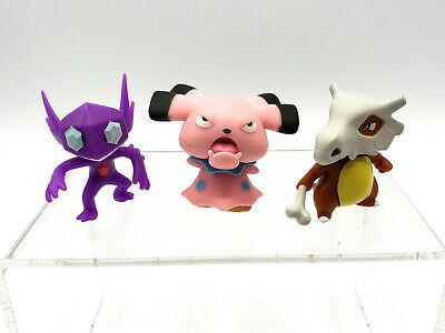 WCT Nintendo Pokemon figures loose lot - Sableye, Snubbull, Cubone