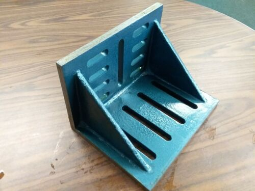 """Slotted Angle Plate webbed End 12x9x8"""" high tensil accurate ground SAPW-1298-new"""