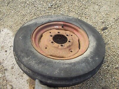 Farmall 504 460 560 656 Tractor Ih Ihc Rim Good 6.00x 16 3 Rib Firestone Tire