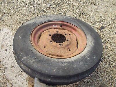 Farmall 504 460 560 656 Tractor Ih Ihc Rim Good 6.00x 16 3 Rib Firestone Tire