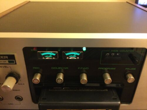 VINTAGE PIONEER H-R100 8-TRACK STEREO PLAYER RECORDER DOLBY SYSTEM