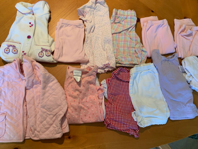 Gilrs Clothes Lot Size 3-6 Months