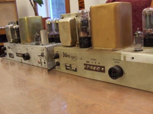 Nice Pair of Allen Organ Model 20 Tube Amplifiers