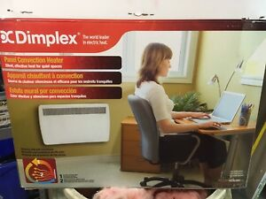 Panel convector heater new in box
