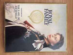 Hard cover book on Queen Elizabeth