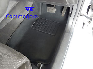 Holden VF COMMODORE CAR FLOOR MATS 3D FRONT RUBBER  2013 onwards