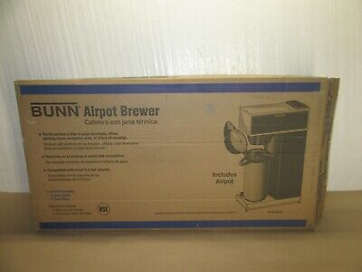 Bunn Vpr-aps Pourover Airpot Coffee Brewer With 2.2 Liter Airpot 120v