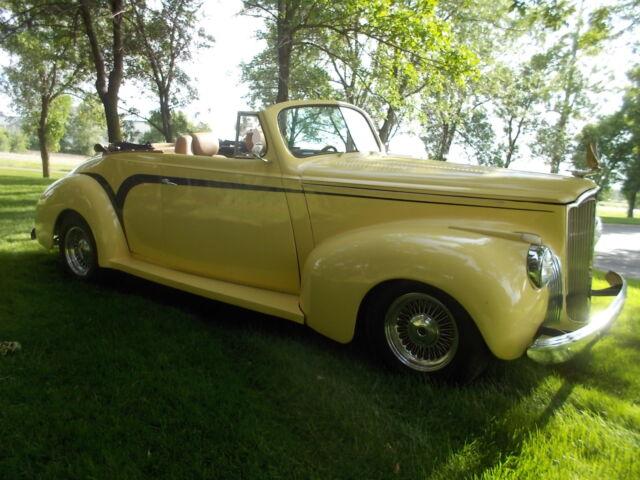 Packard 110 1941 packard convertible street rod 500 ci cadillac all power