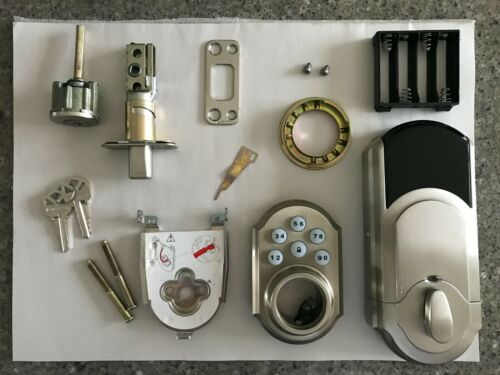 Kwikset SMARTCODE 910 Smart Door Lock Keyless Entry Keypad - Electronic Deadbolt