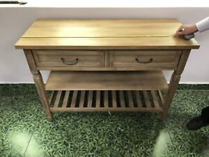 NEW paid $500 - (2) Kitchen Buffet SOLID WOOD