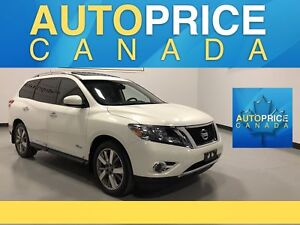 2014 Nissan Pathfinder Hybrid Platinum|NAVI|DVD|MOONROOF|LEATHER