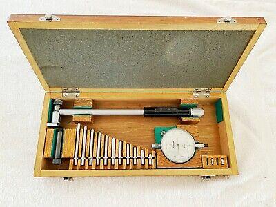 Mitutoyo 511-162 Inside Dial Bore Gauge 2-4 Japan .0001 Gage W Anvils 511