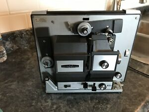 Super 8 and 8mm movie projector