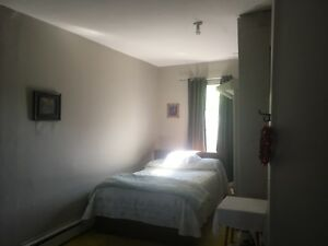Large room rental with amenities