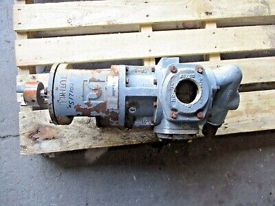 Tuthill Global Gear Gg080s Stainless Pump 2 5171025j Used