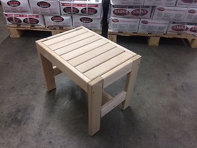 Sauna bench Pine Gr. II: 60x35x40 cm