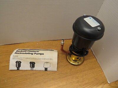 Beckett Z5104 D40cg Coolant Recirculating Pump New In Box 2p371-4