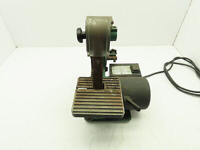 Central Machinery 1x30 Belt Sander 0-45 Deg Angle Jig Bench Top Woodwork 120v