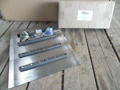 Set Of 4 Allen Power Trowel 6x14 Silver Series Finishing Blades 015890-4