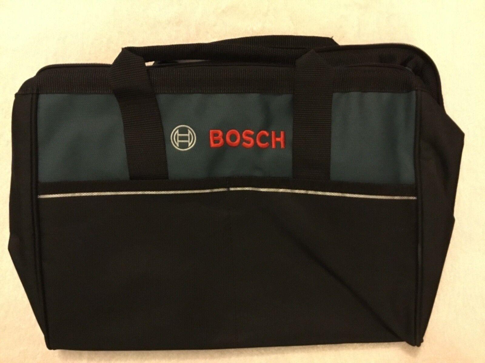 """New Bosch 15"""" x 10"""" x 12"""" Heavy Duty Contractors Tool Ba"""