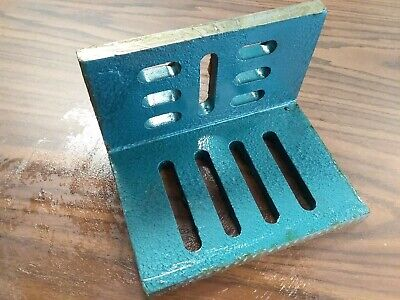 Slotted Angle Plate Open End 8x6x5 High Tensil Cast Iron Precise Ground-sapo