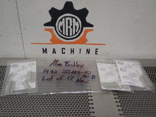 Allen Bradley 1492-SJM5-10 Ser B Side Jumpers 5mm New Old Stock (Lot of 18)