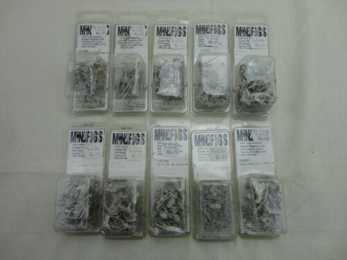 15mm Minifigs Napoleonic Unpainted Miniatures NOS 18