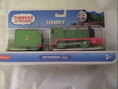 Fisher-Price Thomas The Train - TrackMaster Motorized Henry Engine New, USA