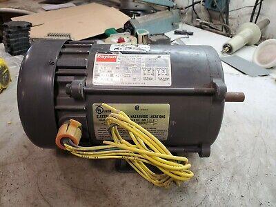 New Dayton 13 Hp Electric Ac Motor 115 Vac 1725 Rpm 56 Frame 1 Phase 6k738q