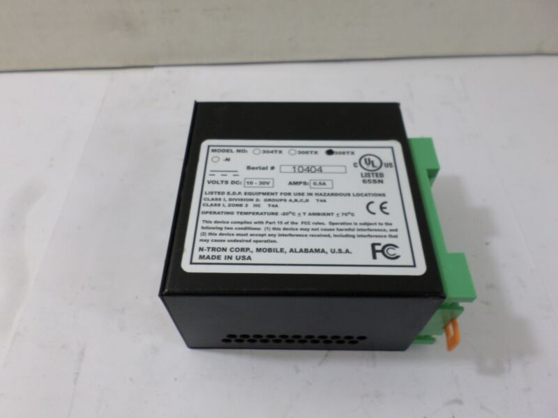 Used 308TX N-Tron Ethernet Switch