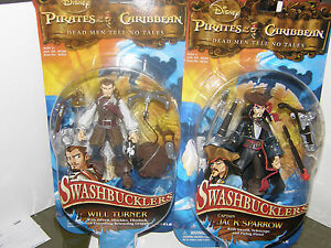 Disney-Pirates-of-the-caribbean-will-turner-capt-jack-sparrow-2008-figures