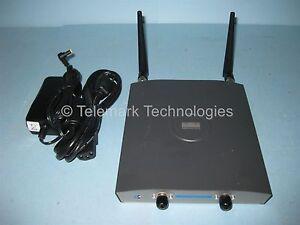 Cisco Aironet 1240 Wireless Access Point AIR-LAP1242AG-A-K9 Dual Antenna & Power