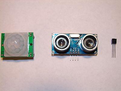 Arduino Pir Motion Ultrasonic Distance Temperature - Sensor Pack - Usa Seller