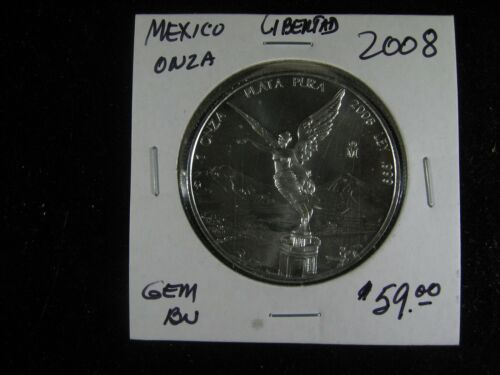 2008 MEXICO LIBERTAD ONZA GEM BU VERY SCARCE!
