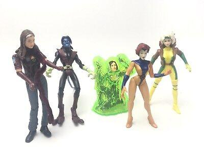 Marvel X-Men Lot of Female Figures