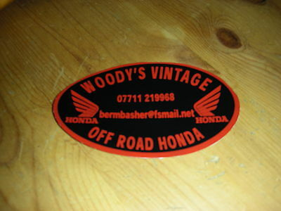 WOODYS VINTAGE OFF ROAD HONDA