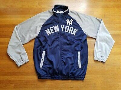 MLB New York Yankees Track Jacket Size Large