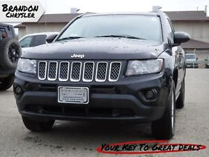 2014 Jeep Compass ~ Sunroof, Half Leather Seats, Bluetooth! Nort