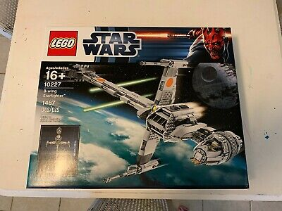 LEGO 10227 - Star Wars: B-Wing Starfighter - Factory Sealed Retired NISB
