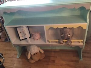 Child height shelf- available